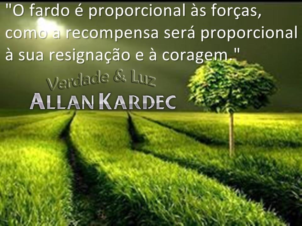allan kardec resignação