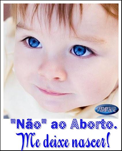 não ao aborto