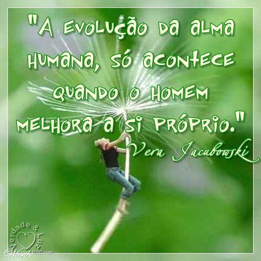 evolução da alma