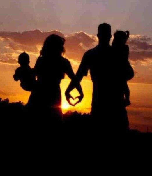 casal e filhos