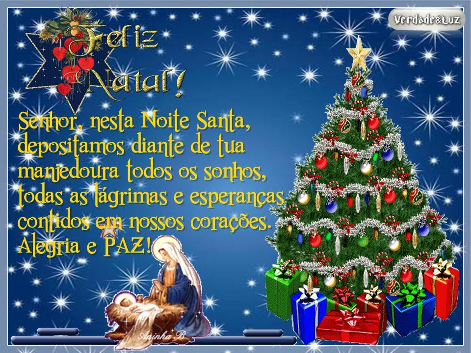 Mensagens De Noite Feliz: Mensagem De Natal.!