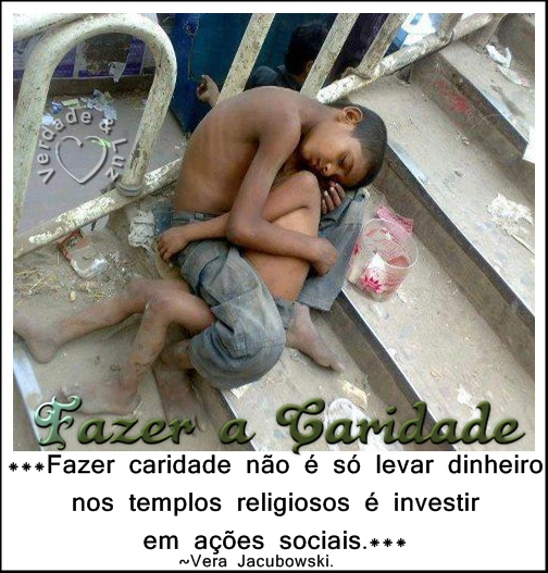 caridade investimento