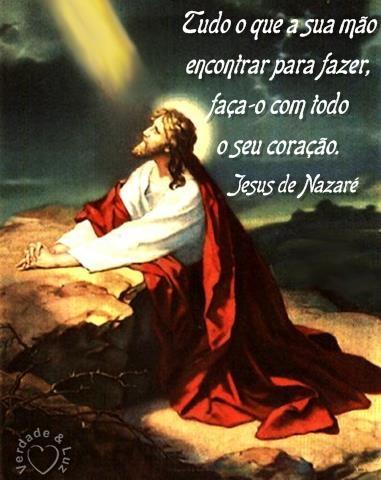 Tudo O Que A Sua Mão Encontrar Para Fazer Jesus Cristo Verdade Luz