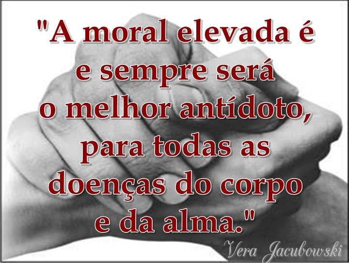 A Moral Elevada Na Visão Espírita