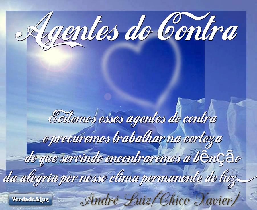 AGENTES CONTRA ANDRÉ LUIZ