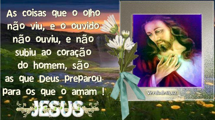 O QUE OS OLHOS NUNCA VIRAM - JESUS