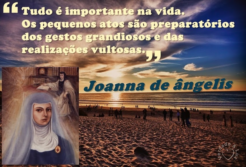 IMPORTANTE JOANNA DE ÂNGELIS