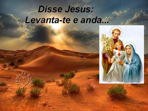 LEVANTA E ANDA CRISTO
