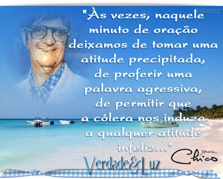 ATITUDE CHICO XAVIER