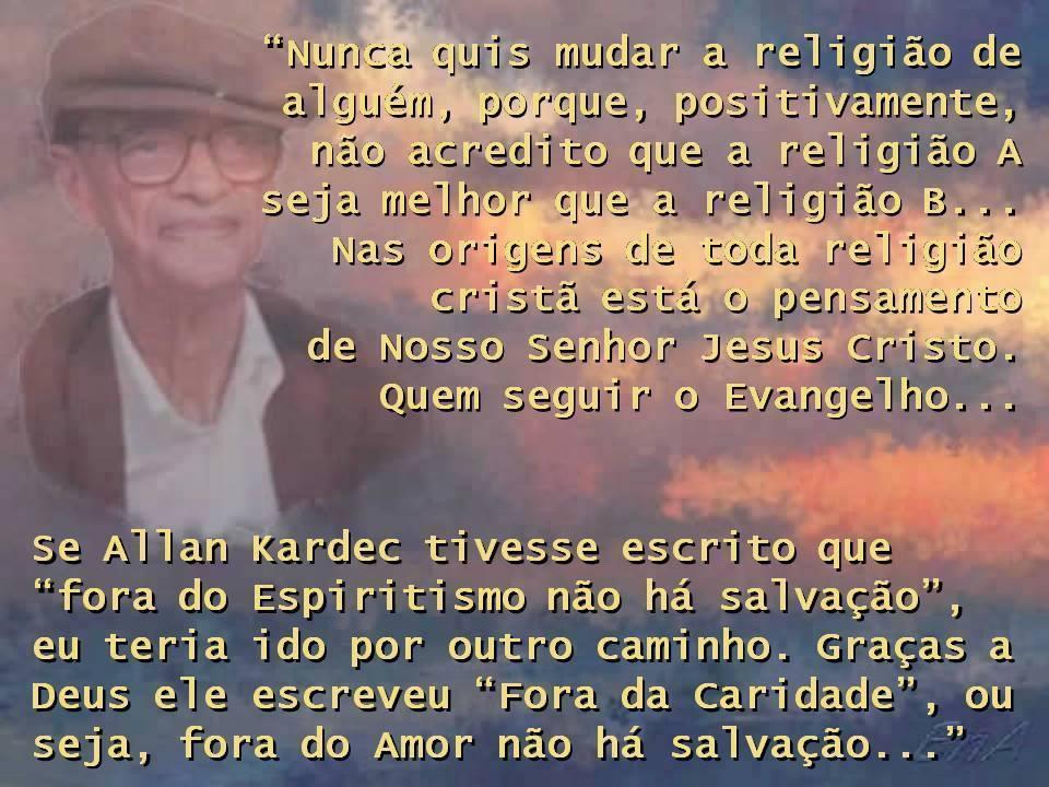 SALVAÇÃO CHICO XAVIER