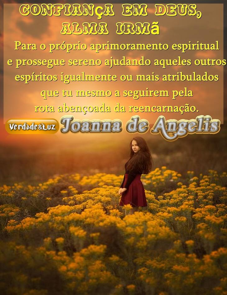 confiança em deus joanna de ângelis