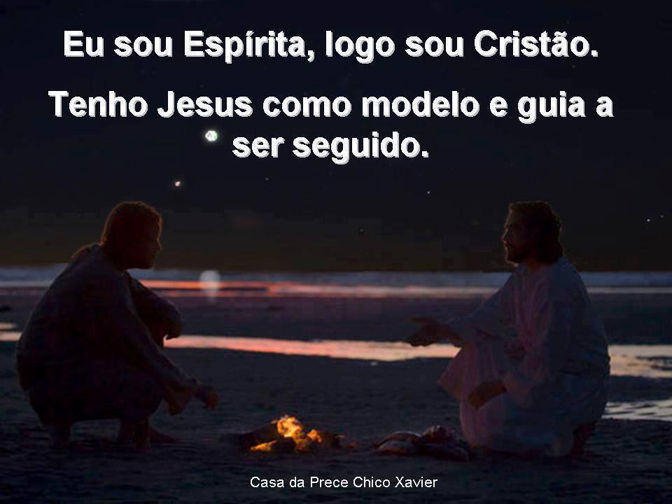 espírita e jesus