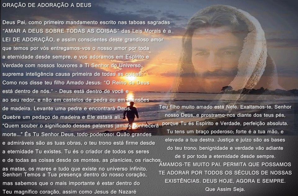 Oração ao Pai Celestial verajacubowski