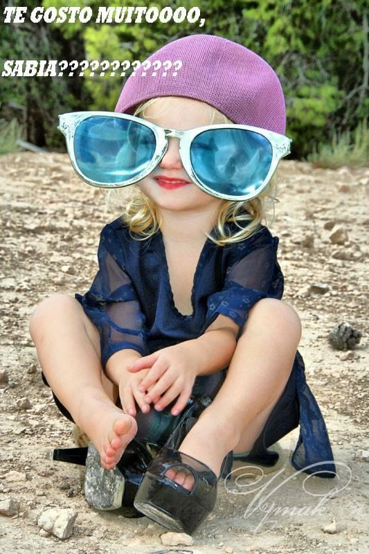 Te gosto muito Sabias ? Feliz Dia da Criança