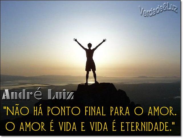 Não há Ponto Final para o Amor O amor é Vida
