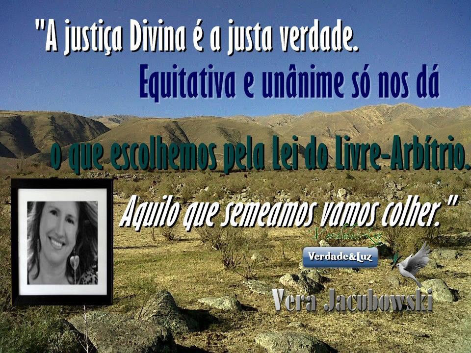 A justiça Divina vera jacubowski