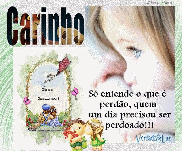 CARINHO E PERDÃO