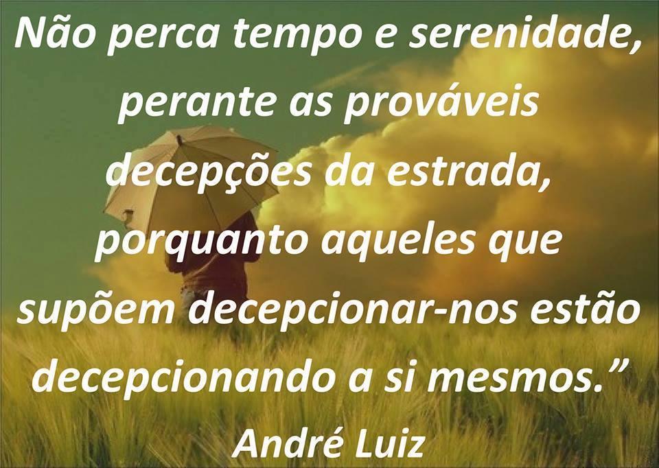 TEMPO E SERENIDADE ANDRÉ LUIZ