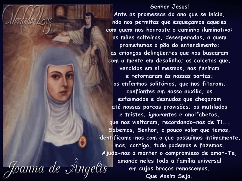 oração joanna de ângelis