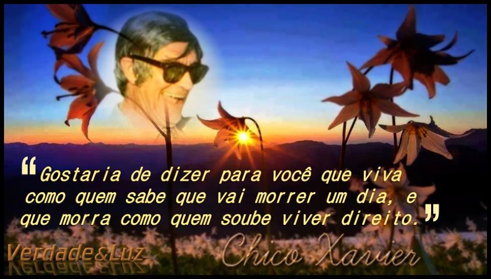 VIVA DIREITO CHICO XAVIER