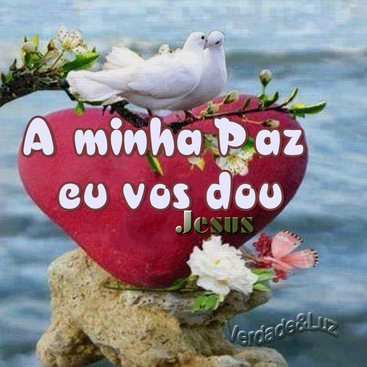minha paz jesus