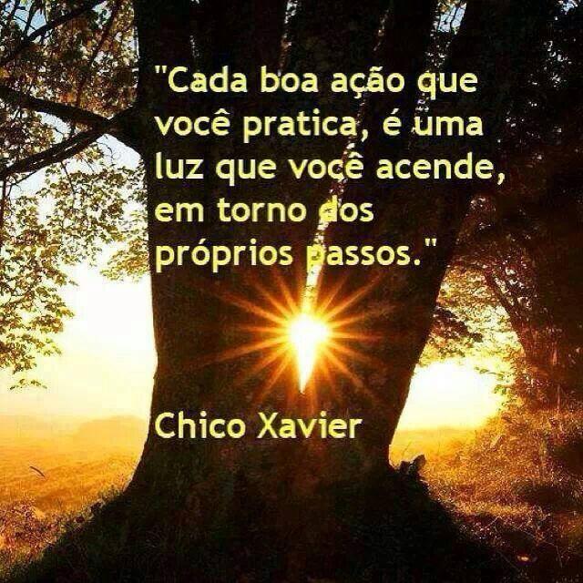 BOA AÇÃO CHICO XAVIER