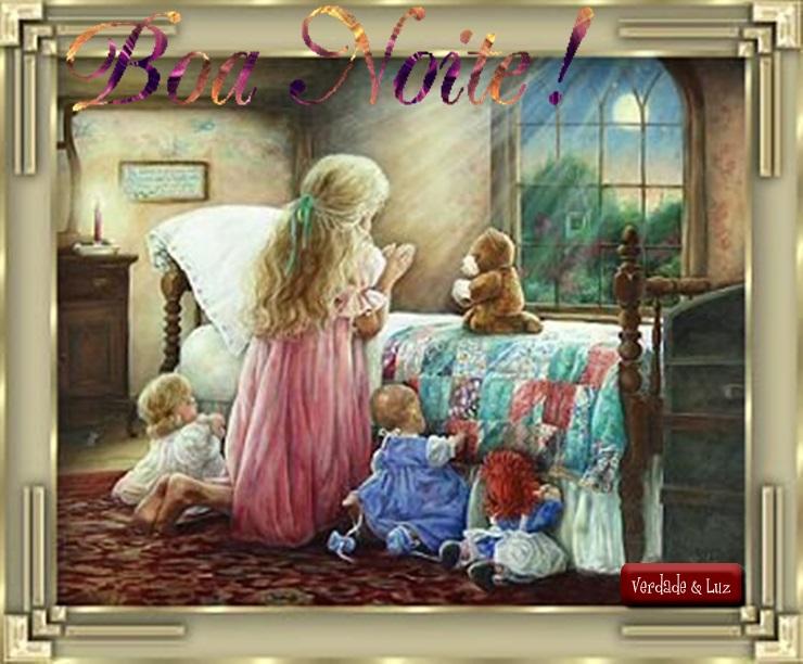 boa noite com oração