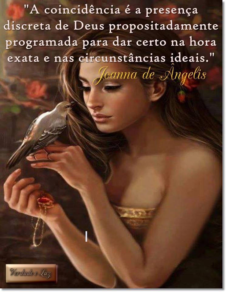 COINCIDÊNCIA JOANNA DE ÂNGELIS