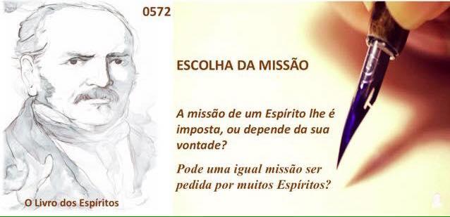 missão dos espíritos ALLAN KARDEC