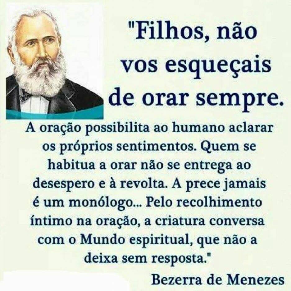 ORAR BEZERRA DE MENEZES