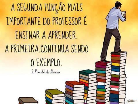 FELIZ DIA DOS PROFESSORES