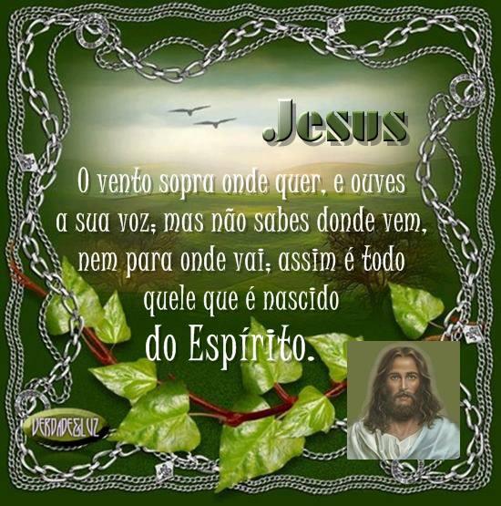 vento e espírito jesus
