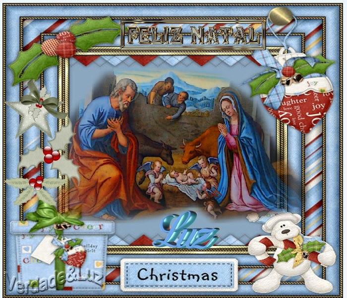feliz natal doce lar luz