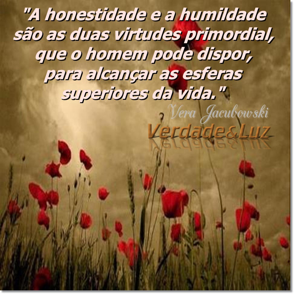 honestidade humildade
