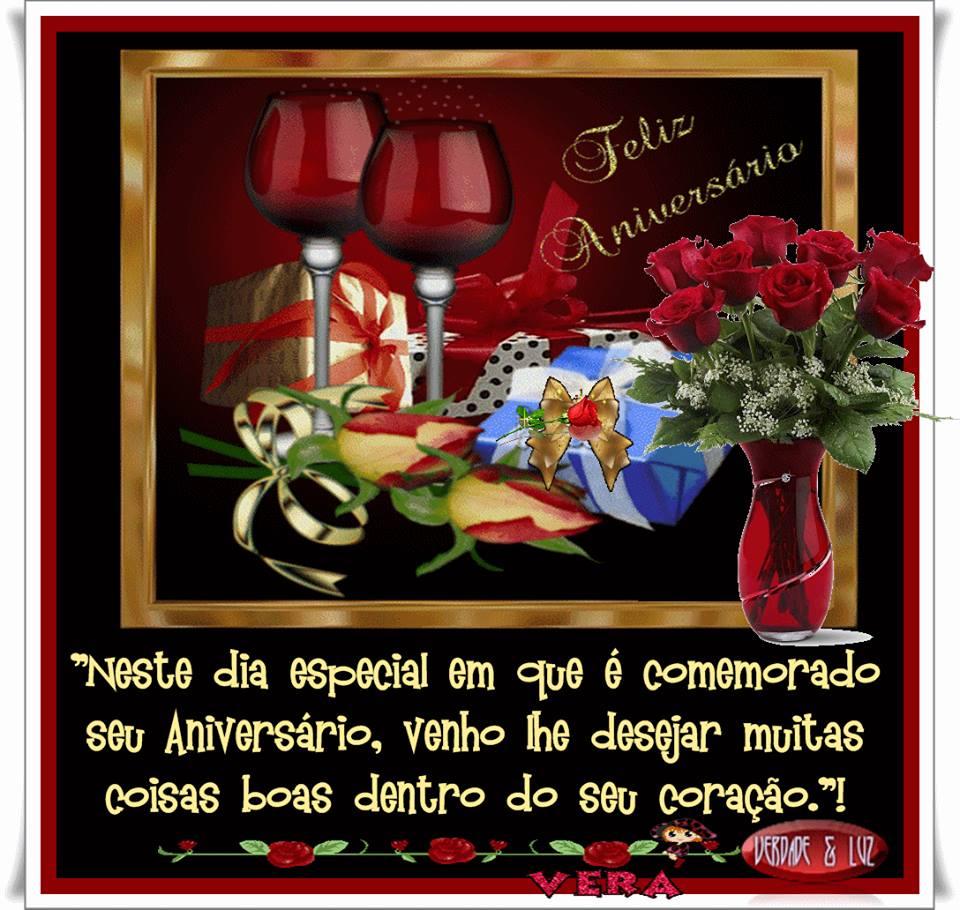 Parabéns e feliz aniversário muita paz saúde realizações