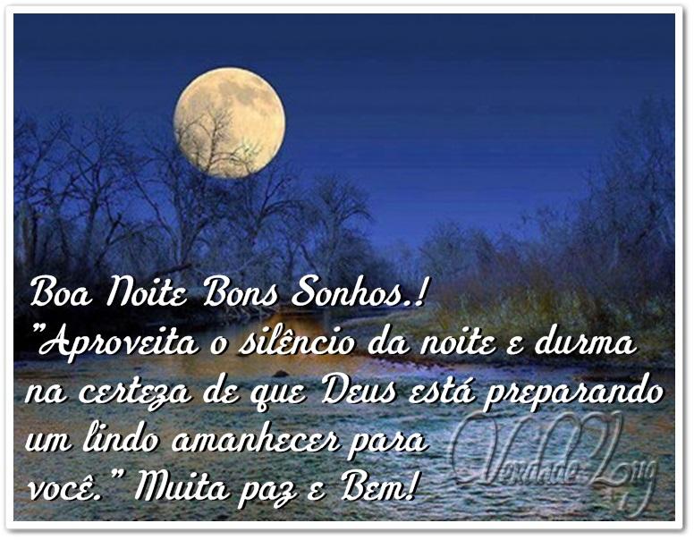 Lindos Vídeos Lindas Mensagens Oração Da Noite: Boa Noite Bons Sonhos.! Aproveita O Silêncio Da Noite