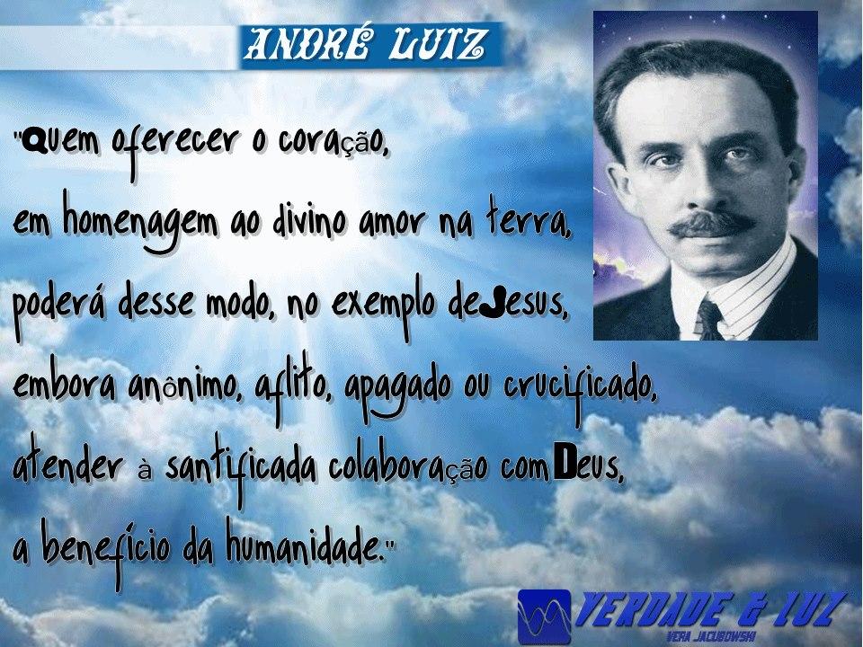 BENEFÍCIO DA HUMANIDADE ANDRÉ LUIZ
