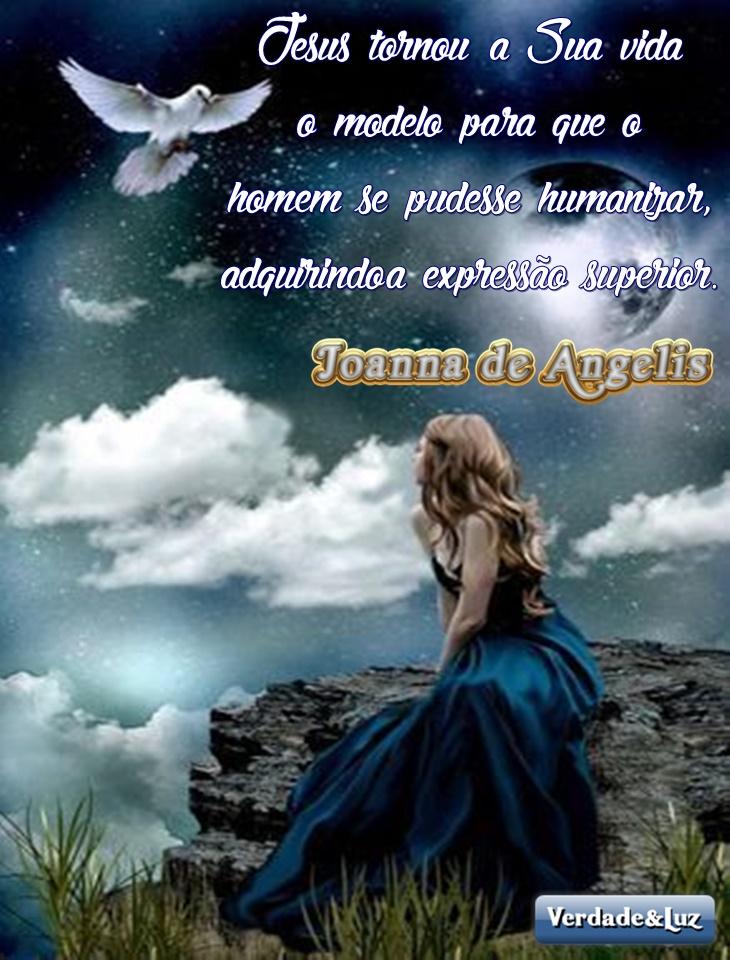humanizador jesus joanna de ângelis