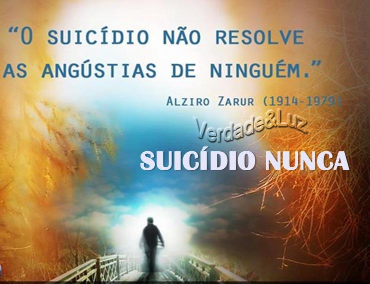 o suicidio nao resolve
