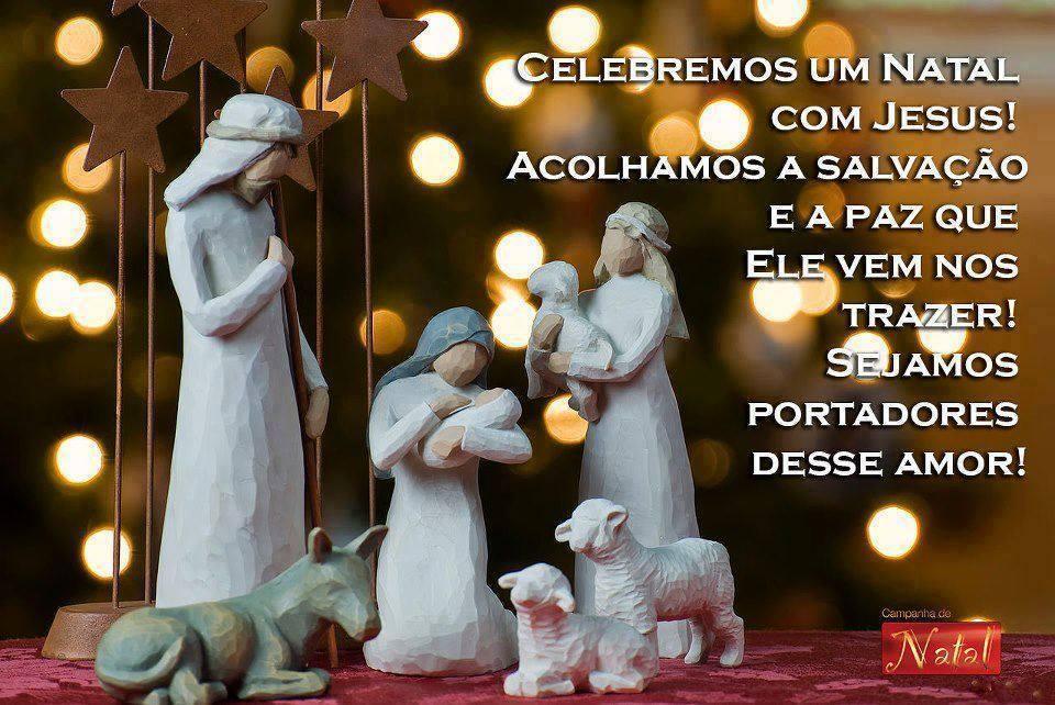 celebrar o natal com jesus