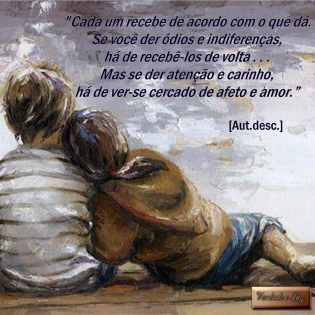 afeto e amor