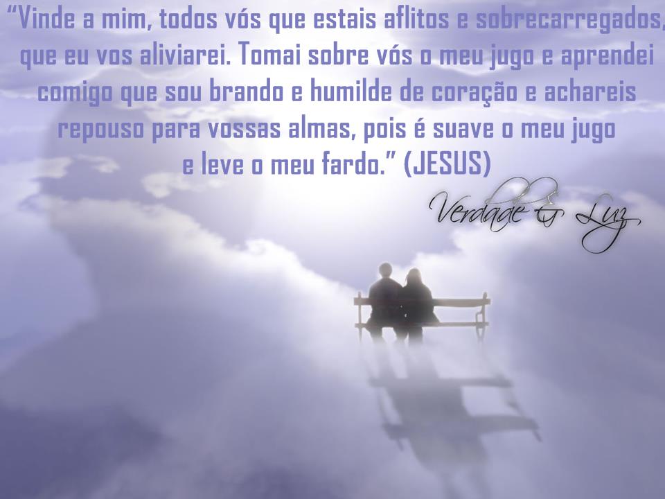 aflitos e sobrecarregados Jesus