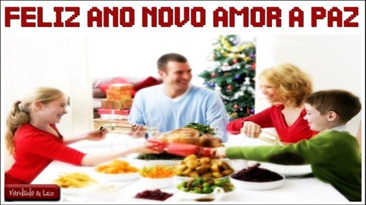 Feliz Ano Novo Amor a Paz e a Sabedoria