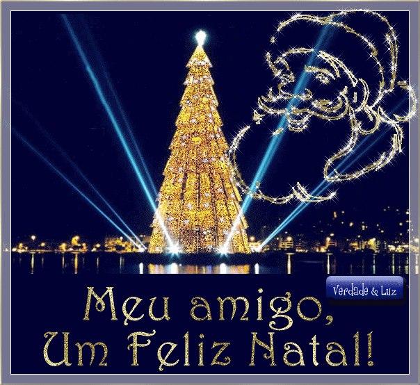 feliz natal azul