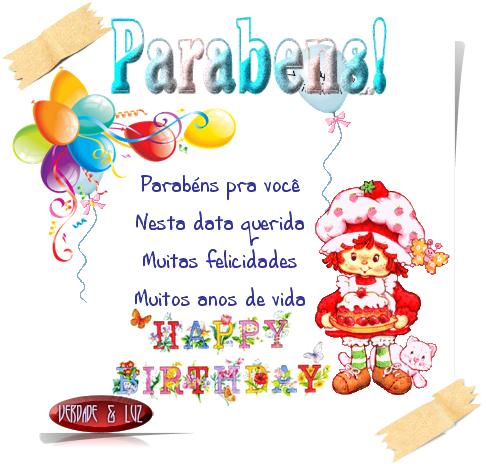 PARABÉNS ANIVERSÁRIO 49
