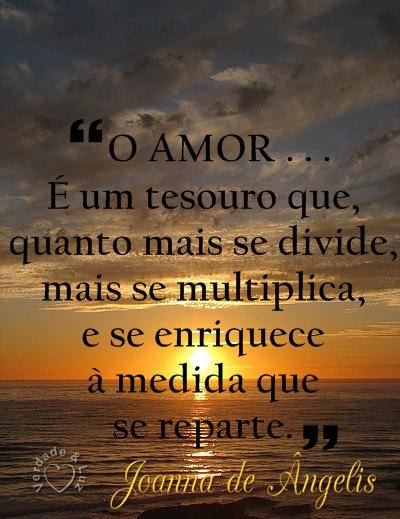 amor é tesouro