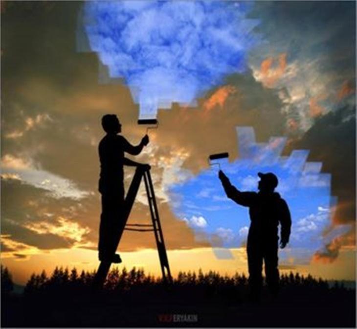 pintar o céu