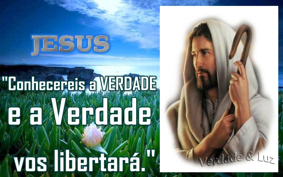 verdade vos libertará Jesus