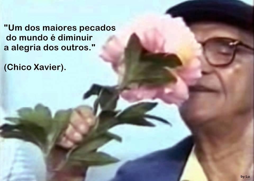 ALEGRIA DOS OUTROS CHICO XAVIER