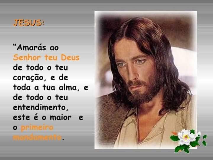 AMAR A DEUS JESUS